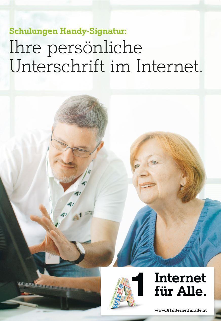 Schulingen Handy-Signatur:Ihre persönliche Unterschrift im Internet.
